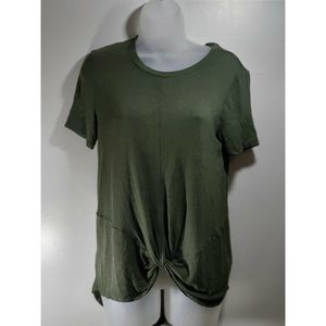 14th & Union Women's Green Size Small Top -s